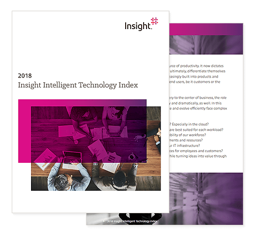 2018 Insight Intelligent Technology Index cover