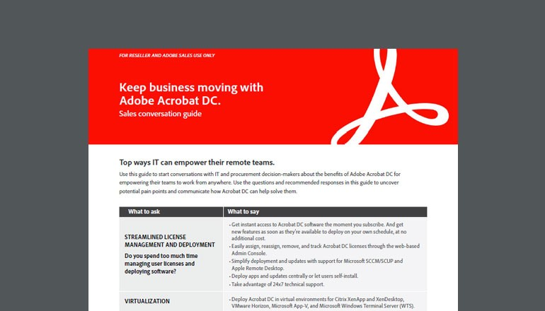 Cover view of Adobe guide available to download below