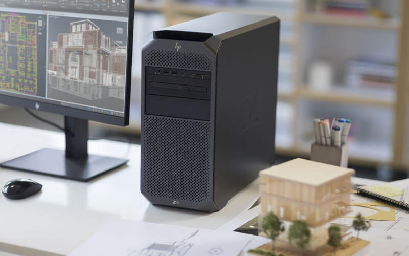 HP Z desktop workstation lifestyle